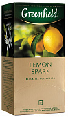 Чай GREENFIELD Lemon Spark черный 25пак*1,5г
