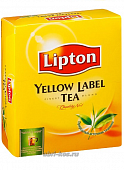 Чай Lipton Yellow label черный 100пак*2г