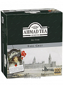 Чай Ahmad Tea Earl Grey черный 100пак*2г