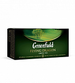 Чай GREENFIELD Flying Dragon зеленый 25пак*2г