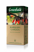 Чай GREENFIELD Barberry Garden черный 25пак*1,5г