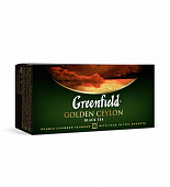 Чай GREENFIELD Golden Ceylon черный в 25пак*2г