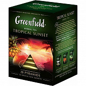 Чай GREENFIELD Tropical Sunset в пирамидках 20*1,8гр