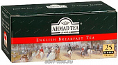 Чай Ahmad Tea English Breakfast черный 25пак*2г