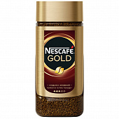 Кофе Nescafe Gold растворимый 95г