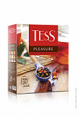 Чай TESS Pleasure с шиповником и яблоком 100пак*1,5г