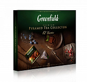 Чай GREENFIELD Pyramid tea Collection ассорти 12 видов 60шт