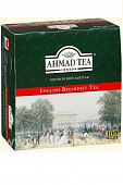 Чай Ahmad Tea English Breakfast черный 100пак*2г