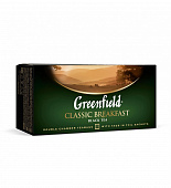 Чай GREENFIELD Classic Breakfast черный 25пак*2г