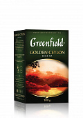 Чай GREENFIELD Golden Ceylon черный 100г