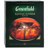Чай GREENFIELD Kenyan Sunrise 100пак*2г