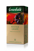 Чай GREENFIELD Festive Grape herbal tea 25пак*2г