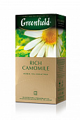 Чай GREENFIELD Rich Camomile 25пак*1,5гр